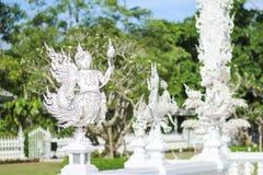 Mak海岛酸值Mak Trat ThailandRong Khun寺庙, Wat荣Khun,白色寺庙, Chiangrai泰国 图库摄影