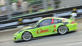Mak Hing Tak racing at Porsche Carrera Cup Asia Stock Photos