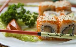 mak sushi Fotografia Stock