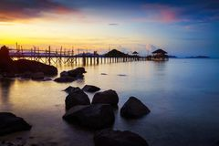 Mak wyspy Koh Mak obrazy royalty free