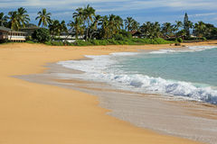 Makaha beach, Oahu, hawaii Royalty Free Stock Image