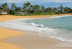 Makaha Beach Park,  Hawaii Royalty Free Stock Image