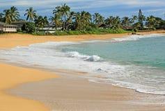 Makaha-Strand-Park, Hawaii Lizenzfreies Stockbild