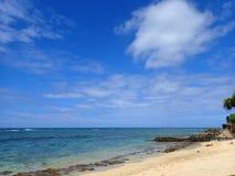 Makalei plaża na Gold Coast zdjęcia royalty free