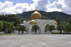 Makam Diraja Seri Menanti located beside the Masjid Diraja Tuanku Munawir. Royalty Free Stock Photos