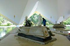 Makam Pahlawan przy Krajowym meczetem Malezja a K masjid Negara Fotografia Royalty Free