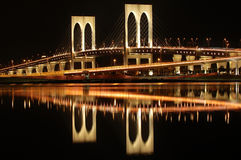 Makao mostu sai van zdjęcia stock