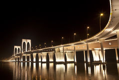 Makao mostu sai van fotografia royalty free