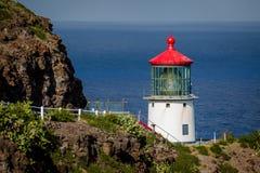 Makapu'u Leuchtturm lizenzfreies stockbild
