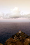 Makapu'u Lighthouse in late afternoon Stock Photos