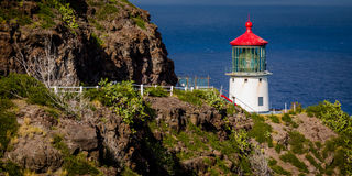 Makapu'u Lighthouse Royalty Free Stock Photos