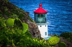 Makapu'u Lighthouse Stock Photo