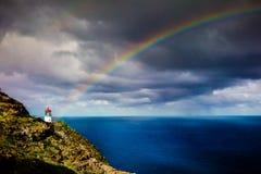 Makapu'u Lighthouse Royalty Free Stock Images