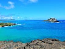 Makapu'u windzugewandtes Oahu lizenzfreies stockfoto