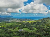 Makapu'u windzugewandtes Oahu stockfoto