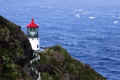 Makapuu light house. On the island of Oahu, Hawaii USA Stock Photography