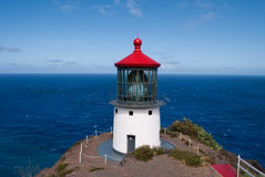 Makapuu Lighthouse, Oahu, Hawaii Stock Photography