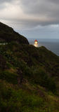 Makapuu Lighthouse Southwest Shore Oahu Hawaii Nautical Maritim Stock Photography