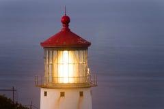 Makapuu Lighthouse Southwest Shore Oahu Hawaii Nautical Maritim Stock Images