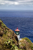 Makapuu Point Lighthouse Stock Image