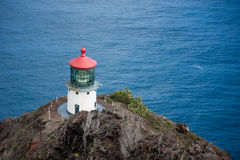 Makapuu punktu latarnia morska zdjęcia royalty free