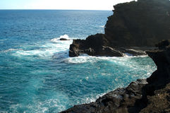 Makapuu Rocky Sea Beach Royalty Free Stock Photo