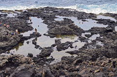 Makapuu Tide Pools Stock Image