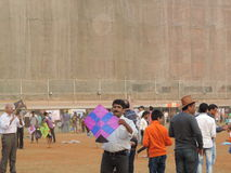 Makar Sankrant świętowanie, Mumbai, India Fotografia Royalty Free