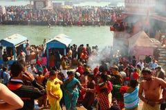 Makar Sankranti huge Religious festival Royalty Free Stock Image