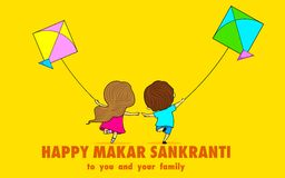Makar Sankranti Stock Photography