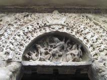 Makar torana sculpture. Place - aishwareshwar temple,sinnar in India stock photos