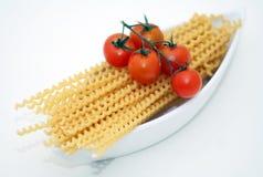 makaronów pomidorów zdjęcie stock