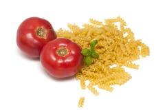 makaronów pomidory Zdjęcie Stock