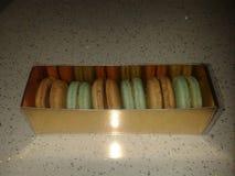 Makaron. French home made macarons Stock Images