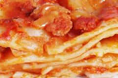 makaron lasagne Fotografia Royalty Free