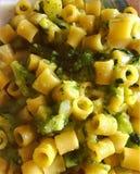 Makaron z brokułami zdjęcie stock