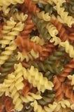 Makaroni. Färgrik pastabakgrund royaltyfri bild
