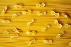 Makaroni och spagetti Royaltyfria Foton