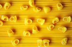 Makaroni och spagetti Arkivbilder