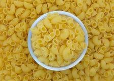 Makaronowy makaronu jedzenia tło obraz stock