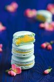Makarons matcha Royalty Free Stock Photography
