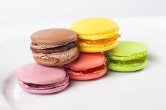 Makaronstypes, kleurrijke opties, kleur geïsoleerde witte achtergrond Royalty-vrije Stock Afbeelding