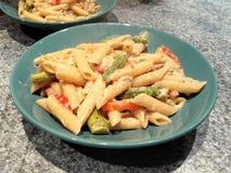 makaronu asparagus Obraz Royalty Free