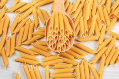 makaronu włoski penne fotografia stock