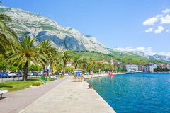 Makarska Κροατία Στοκ εικόνα με δικαίωμα ελεύθερης χρήσης
