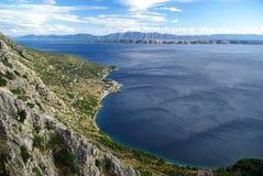 Makarska Ривьера   Стоковая Фотография RF