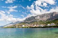Makarska, Хорватия Стоковые Фото