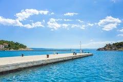 Makarska Хорватия Стоковая Фотография