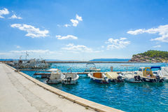 Makarska Хорватия Стоковое Изображение RF