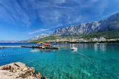 Makarska, Хорватия стоковое фото